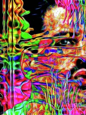Mixed Media - Freddie by Daniel Janda