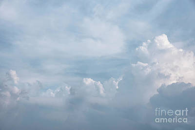 Photograph - Freedom Of Clouds by Kiran Joshi