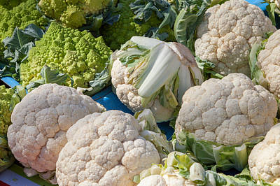 Broccoli Wall Art - Photograph - Fresh Vegetables by W Chris Fooshee