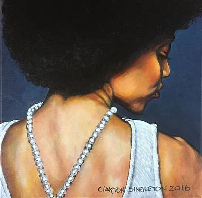 Wall Art - Painting - FRO by Clayton Singleton