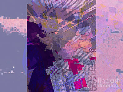 Digital Art - From Above by Cooky Goldblatt
