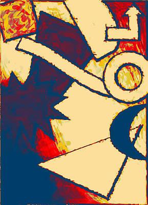 Funky Fanfare Art Print