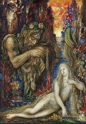 Painting - Galathea by Gustave Moreau