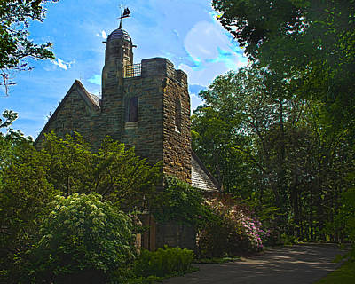 Photograph - Garrett Memorial Chapel by Richard Engelbrecht