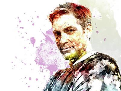 George Clooney Art Print