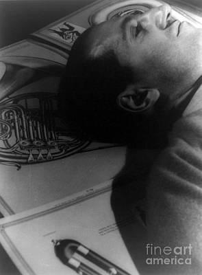 George Gershwin, American Composer Art Print by Science Source