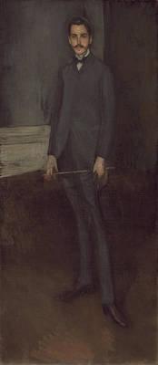 Painting - George W. Vanderbilt by James McNeill Whistler