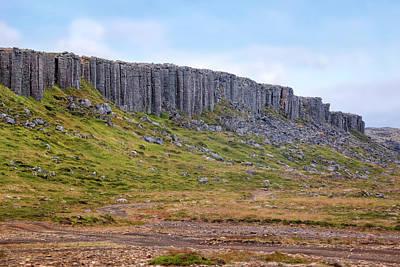 Gerduberg Cliffs - Iceland Print by Joana Kruse