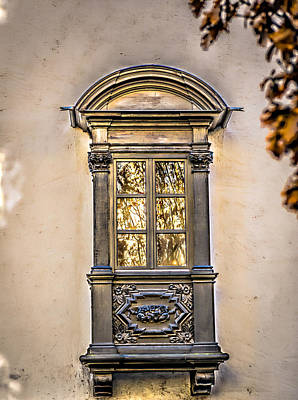 Photograph - German Window by Bill Howard