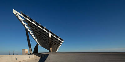 Parcs Photograph - Giant Solar Panel, Parc Del Forum by Panoramic Images