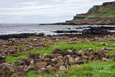 Photograph - Giants Causeway In Northern Ireland United Kingdom by Vizual Studio