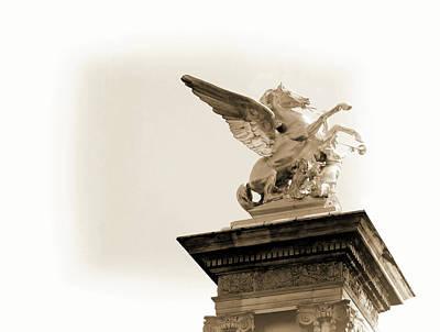 Photograph - Gilded Sculpture Art by JAMART Photography
