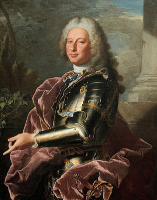 Painting - Gio. Francesco II Brignole-sale by Hyacinthe Rigaud