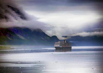 Photograph - Glacier Bay Alaska by Paul Ross