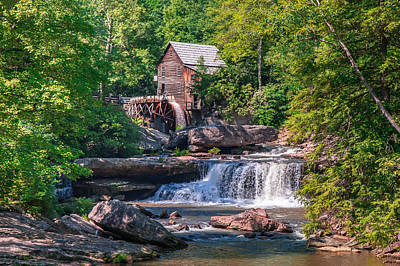 Photograph - Glade Creek Grist Mill by Mary Almond