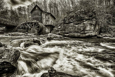 Photograph - Glade Creek Grist Mill  by Thomas R Fletcher