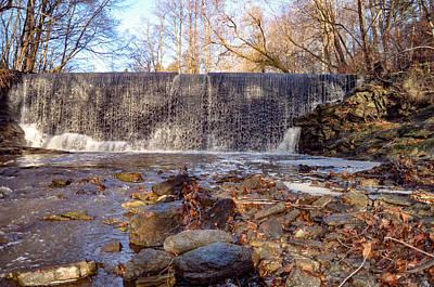 Waterfall Photograph - Gladwyne - Dove Lake Waterfall by Bill Cannon