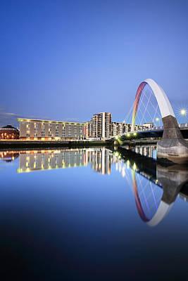 Anne Geddes - Glasgow Clyde Arc Reflection by Grant Glendinning