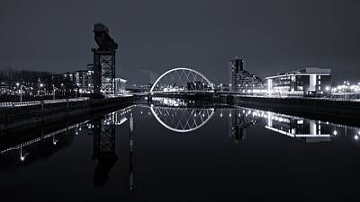 Photograph - Glasgow Riverside by Stephen Taylor