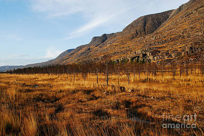 Torridon Wall Art - Photograph - Glen Torridon by Smart Aviation
