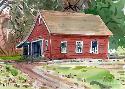 Cobb Painting - Glenbrook Carriage House by Donald Maier