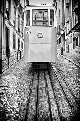 Funicular Photograph - Gloria Funicular by Jose Elias - Sofia Pereira