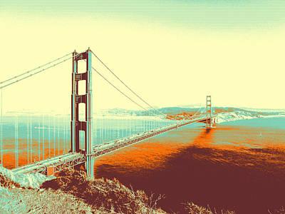 Painting - Golden Gate Bridge by Adam Asar