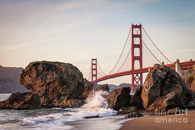 Photograph - Golden Gate Bridge by Colin and Linda McKie