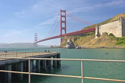 Golden Gate Bridge In Northern California. Original by Gino Rigucci