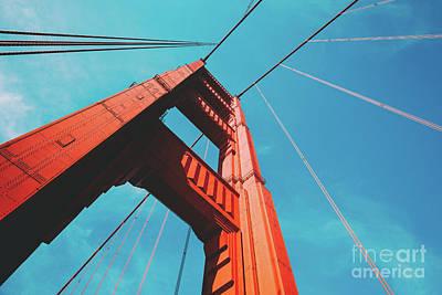 Photograph - Golden Gate Bridge by JR Photography