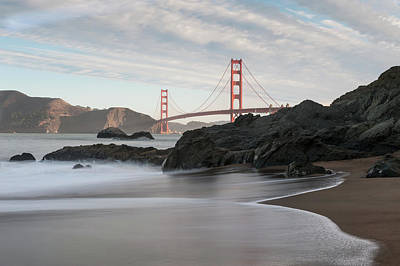 Photograph - Golden Gate Bridge by Wim Slootweg