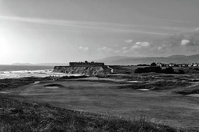Photograph - Golf Course On Half Moon Bay - California by L O C