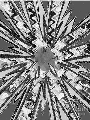 Photograph - Goodluck Star Sparkles Obtained In Meditative Process Navinjoshi Artist Fineartamerica Pixels by Navin Joshi