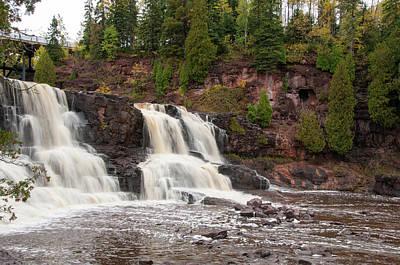 Photograph - Gooseberry Falls by Steve Stuller