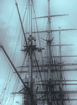Photograph - Gorch Fock ... by Juergen Weiss