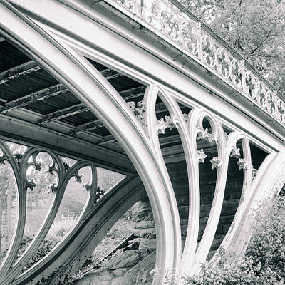 Gothic Bridge Photograph - Gothic Bridge Detail by Jessica Jenney
