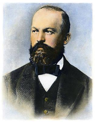 Drawing - Gottlieb Daimler by Granger