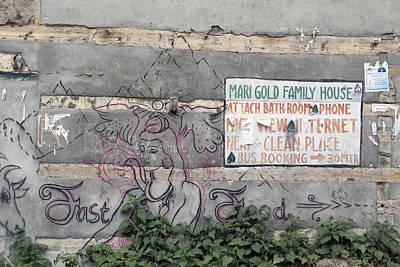 Photograph - Graffiti by Sumit Mehndiratta