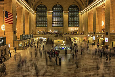 Terminal Photograph - Grand Central Station by Martin Newman
