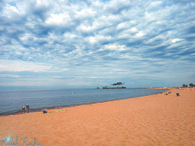 Photograph - Grand Haven Lighthouse by Michael Rucker