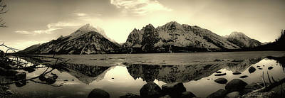 Photograph - Grand Teton Beauty by Willamada