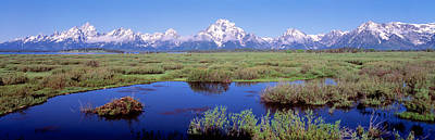 Teton Photograph - Grand Teton Park, Wyoming, Usa by Panoramic Images