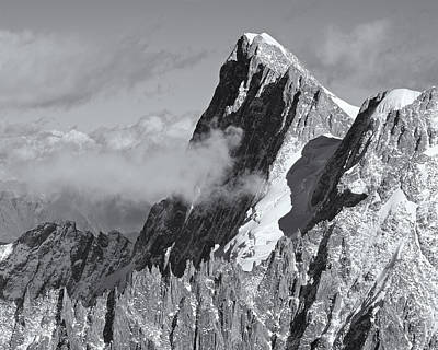 Photograph - Grandes Jorasses by Stephen Taylor