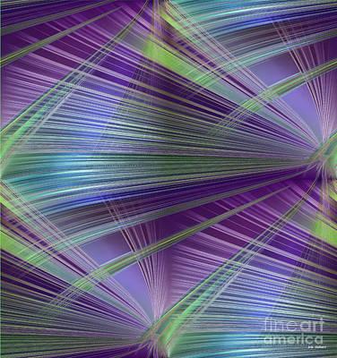 Digital Art - Grasses by Iris Gelbart