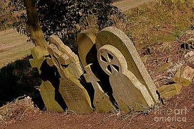 Photograph - Grave Stones by Andy Thompson
