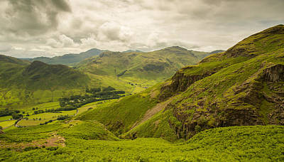 Digital Art - Great Langdale by Mike Taylor