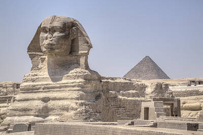 Great Sphinx Of Giza - Egypt Art Print