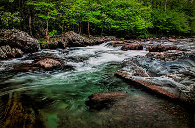 Photograph - Green Waters by Dave Bosse