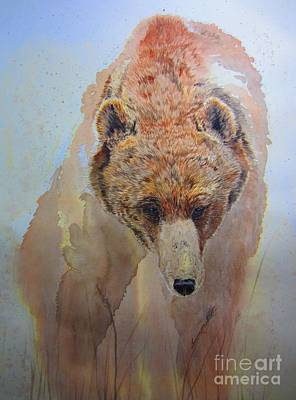 Painting - Grizzly by Laurianna Taylor