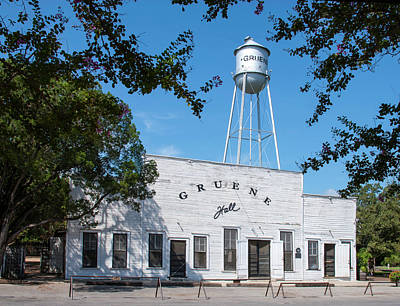 Photograph - Gruene Hall by Brian Kinney